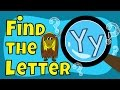 Alphabet Games | Find the Letter Y