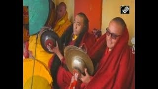 India News - Spectacular colorful festival held at Spituk Buddhist Monastery in India's Kashmir