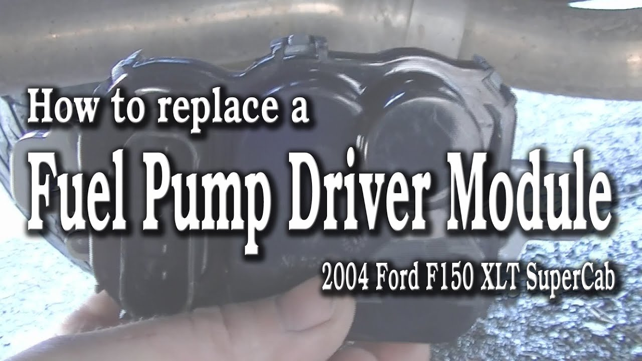 Ford F150 Fuel Pump >> How to Replace a Ford F150 Fuel Pump Driver Module - YouTube