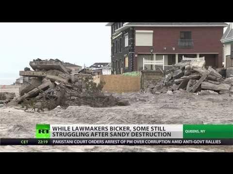Struggle and pain alive months after Sandy