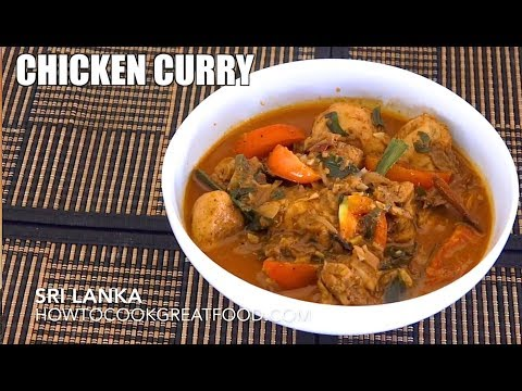 Sri Lankan Chicken Curry - Chicken Curry - Recipes from Sri Lanka - Easy Chicken Curry