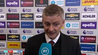 "Solskjaer: ""It' wasn't good enough...but we're still fifth!"""
