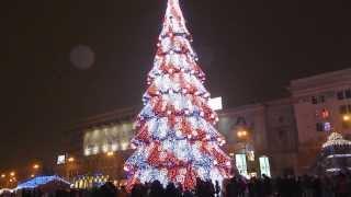 Новогодняя Елка в Харькове 2013-2014