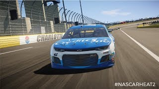 2018 Charlotte Roval Gameplay (Nascar Heat 2)