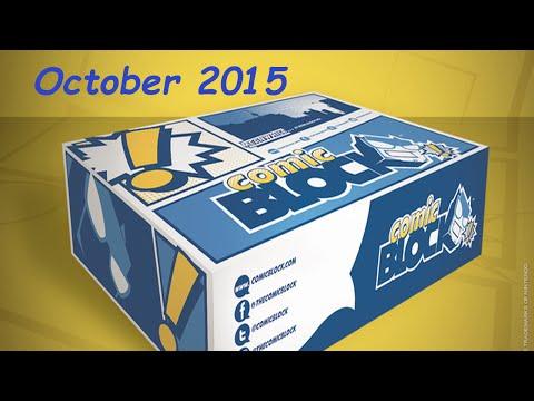 Comic Block - October 2015 - Lara Croft