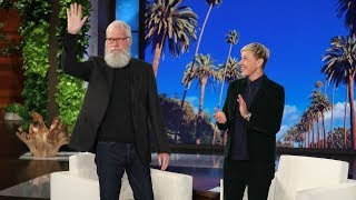 EXTENDED - David Letterman Went Unnoticed by Hollywood Tourists