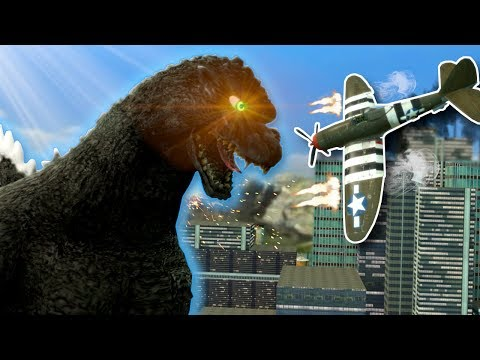 GODZILLA ATTACKS! - Garry's Mod Gameplay & Roleplay
