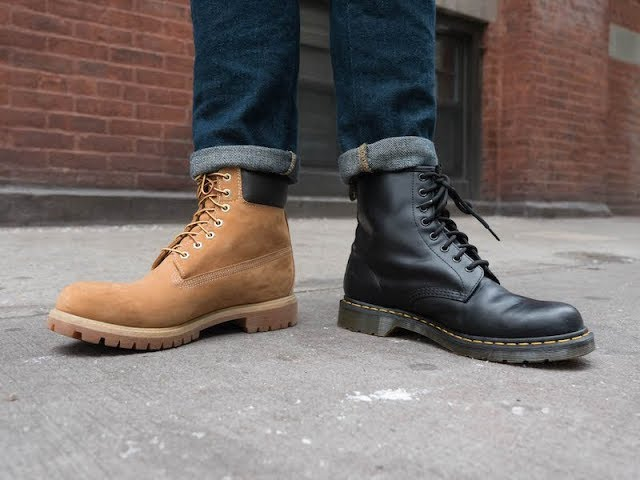 TIMBERLANDS VS DOC MARTENS: The Most