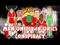 Man United Injuries - THE CONSPIRACY!!! (Rooney Jones Darmian Schweinstiger Young Fellaini Cartoon)