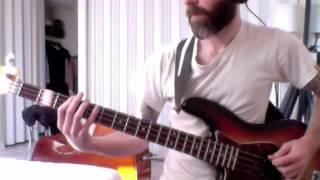 DEVO - Gut Feeling (bass cover)