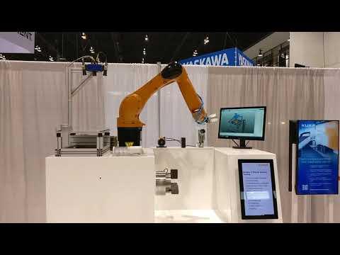 IMTS 2018 - KUKA Robotics / IDS - KR AGILUS / Ensenso X-Series - 3D