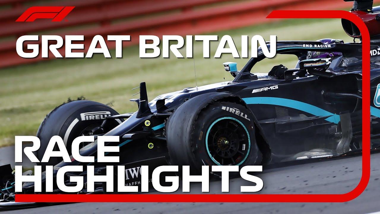 Der Große Preis von Großbritannien 2020: Highlights