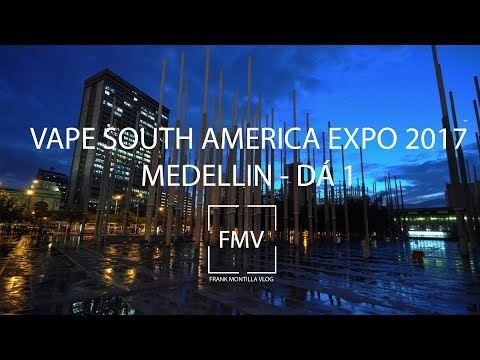 VAPE SOUTH AMERICA EXPO 2017 DIA 1 / VAPING TRAVEL VLOG 3 - VLOG 032
