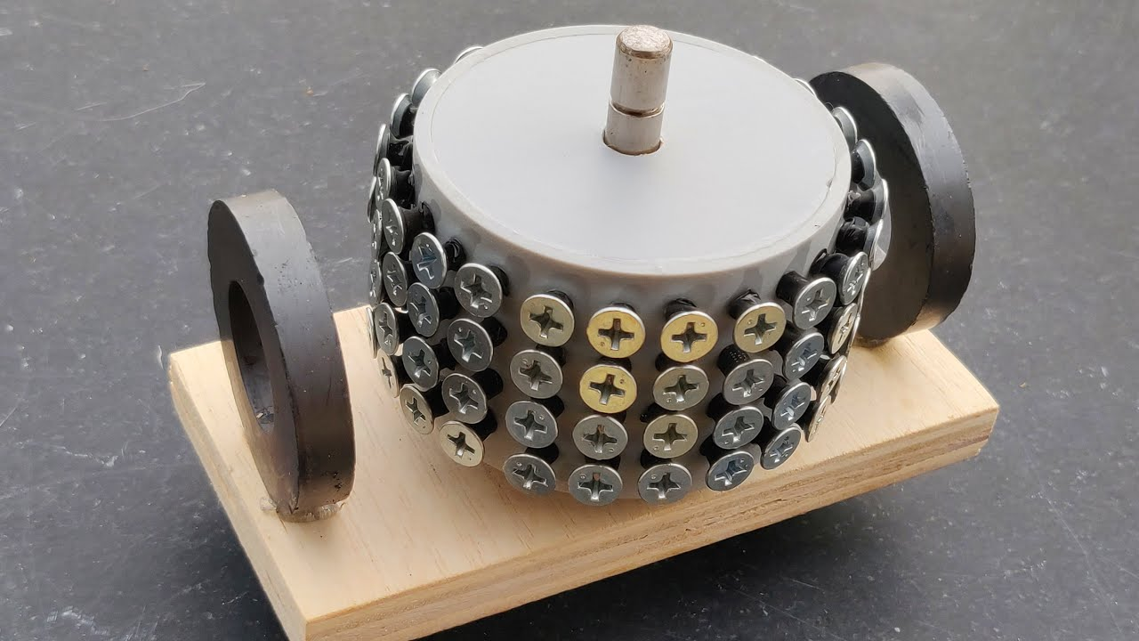 Most Powerful Big Brushed Motor (96 Screws)