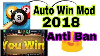8 Ball Pool Auto Win Mod 100% Anti Ban 2018 || Technical BilAl