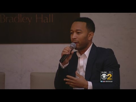 John Legend Joins Justice-Reform Advocates In Chicago