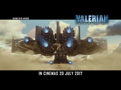 Valerian and the City of a Thousand Planets - Main Trailer - Opens 20 July in Cinemas