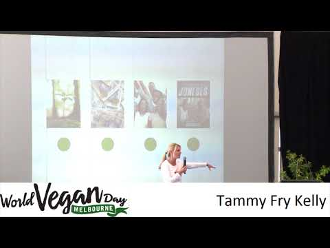 Tammy Fry Kelly at World Vegan Day Melbourne 2016
