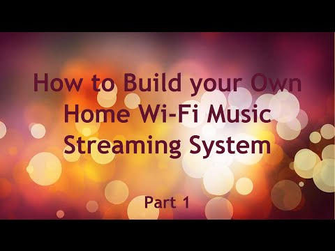 DIY Home WiFi Music Streamer with Raspberry Pi Part 1