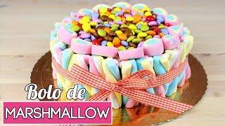 Bolo de Marshmallow   Especial Dia das Crianças   Cakepedia
