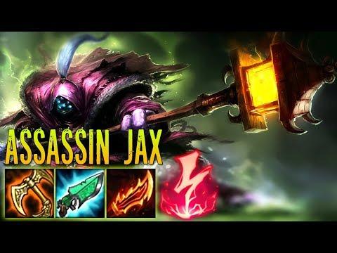 HYBRID ASSASSIN JAX ! GUNBLADE + RAGEBLADE OP ! BUSTED ! SOME OTHER WAY TO SAY OP AGAIN ! 100 Emoji