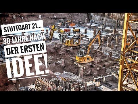 Stuttgart 21 Baufortschritt - 30 Jahre nach der ersten Idee| 29.08.18 | #S21 #stuttgart21