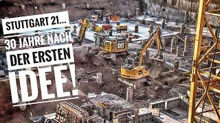Stuttgart 21 Baufortschritt - 30 Jahre nach der ersten Idee  29.08.18   #S21 #stuttgart21
