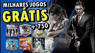 +750 JOGOS GRÁTIS NO PS4 PARA JOGAR COMPLETOS!! (VOCÊ NÃO LEU ERRADO)