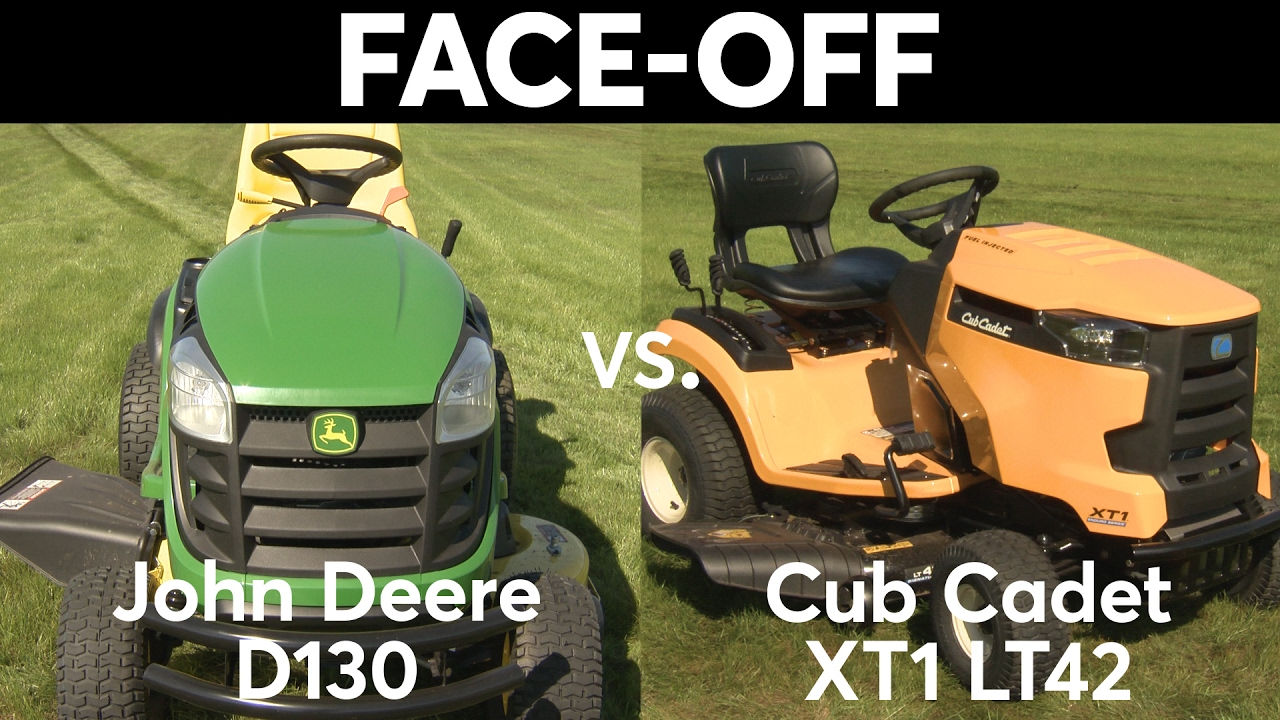 Tractor Face Off John Deere Vs Cub Cadet Consumer Reports Youtube Does Anyone Have A Mowing Belt Diagram For Lx