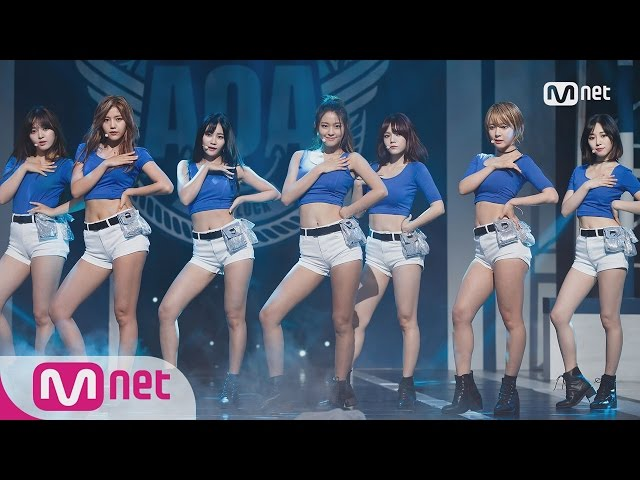 [AOA - Good Luck] Comeback Stage l M COUNTDOWN 160519 EP.474
