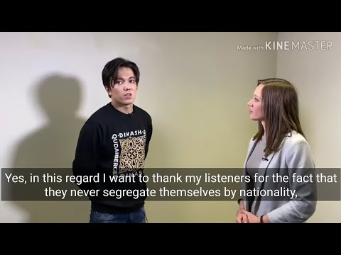 "[Eng/other] Dimash On ""Art Interview"", 2020 (Crazy Maks)"