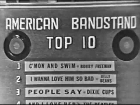 American Bandstand 1964 - Top 10 - C'mon and Swim, Bobby Freeman