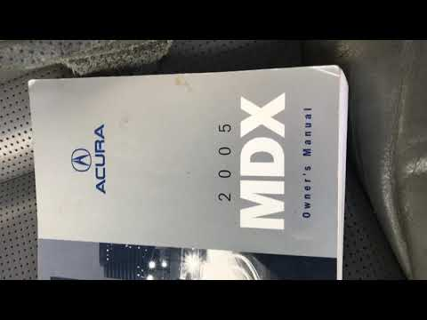 2005 Acura MDX aux fuses location - YouTube on