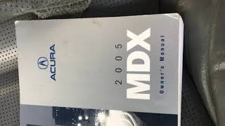 2005 Acura MDX aux fuses location - YouTube | Acura Mdx Auxiliary Fuse Box |  | YouTube