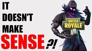 Fortnite Battle Royale MAKES NO SENSE!!!