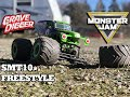 3s Brushless Axial SMT10 Grave Digger Freestyle
