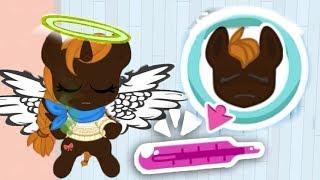 Болезнь Пони! Дом с привидениями или колдовство карманной пони кризалис в мультике для детей