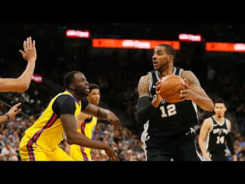 San Antonio Spurs shut makeshift Golden State Warriors down in fourth quarter