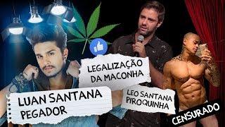 Fábio Rabin - Luan Santana Pegador / Legalização da Maconha / Leo Santana piroquinha