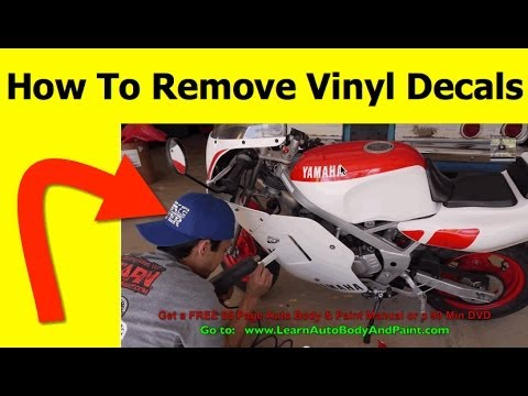 How To Remove Vinyl Decals YouTube - Vinyl decals for cars removal