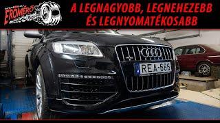 Totalcar Erőmérő: Audi Q7 V12 TDI - megkínzott minket