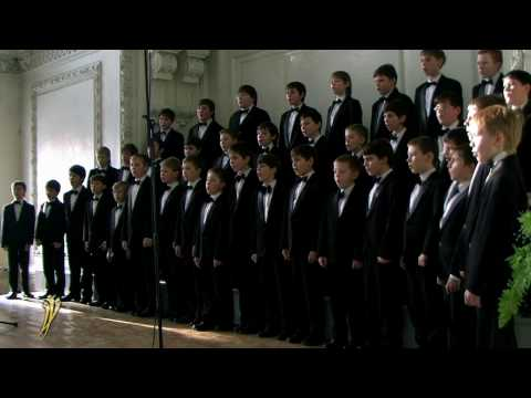 Tell Us, Ship's Boy! (Ты расскажи нам, юнга) - N. Novgorod Boys' Choir