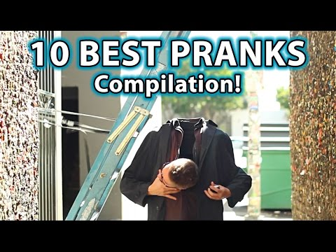 Thumbnail: 10 BEST Scare PRANKS Ever! (Compilation)
