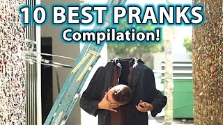 10 BEST Scare PRANKS Ever! (Compilation)