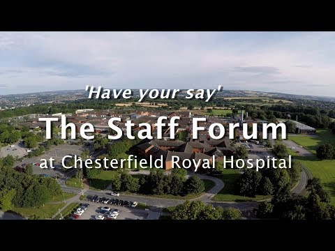 The Staff Forum 2017 at Chesterfield Royal Hospital
