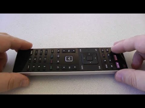 Easy Resetting of a Vizio Remote