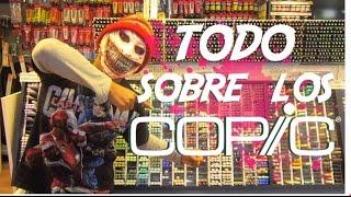 ¡¡TODO SOBRE LOS COPIC MARKERS!! EN SPONDYLUS - PERÚ