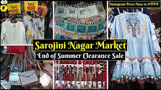 Sarojini Nagar Market | Latest October Collection | End of Summer - Clearance Sale | Domestic Beauty
