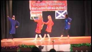 TELUGU Association of Scotland DEEPAVALI 2012 Dance for the song Twist