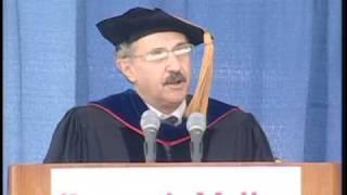 Edward Rubin Speaks at Commencement